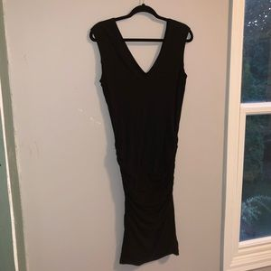 James Perse black stretchy dress